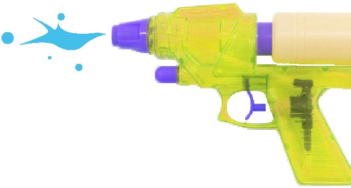 水鉄砲バトル